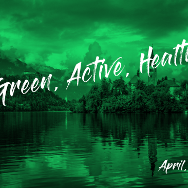 GREEN, ACTIVE, HEALTHY