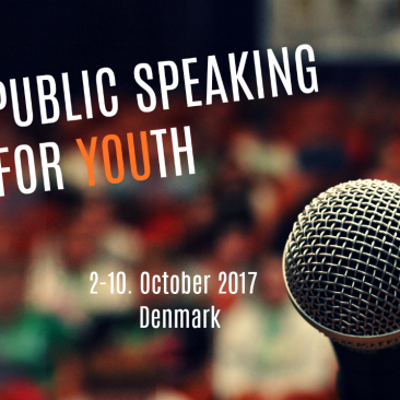 Public speaking for youth!