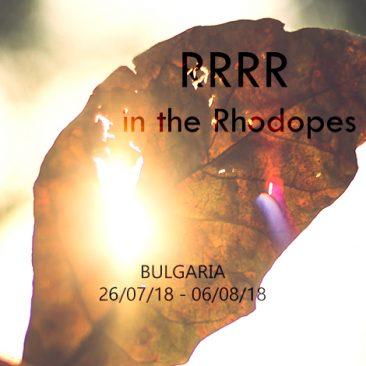 RRRR in the Rhodopes