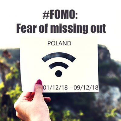 #FOMO: Fear of missing out